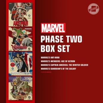 Marvel's Phase Two Box Set: Marvel's Ant-Man; Marvel's Avengers: Age of Ultron; Marvel's Captain America: The Winter Soldier; Marvel's Guardians of the Galaxy