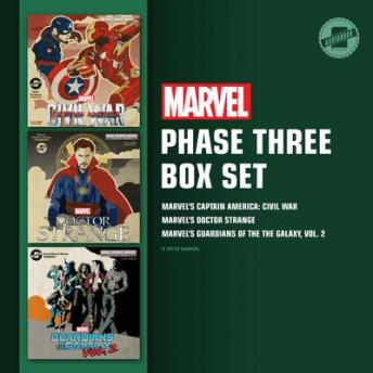 Marvel's Phase Three Box Set: Marvel's Captain America: Civil War; Marvel's Doctor Strange; Marvel's Guardians of the Galaxy, Vol. 2