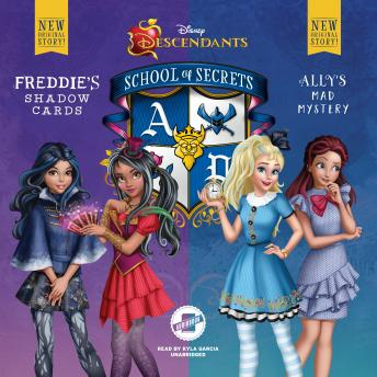 Disney Descendants: School of Secrets: Books 2 & 3: Freddie's Shadow Cards & Ally's Mad Mystery, Audio book by Jessica Brody