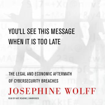 Download You'll See This Message When It Is Too Late: The Legal and Economic Aftermath of Cybersecurity Breaches by Josephine Wolff