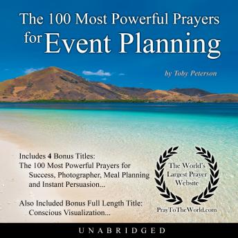 Download 100 Most Powerful Prayers for Event Planning by Toby Peterson