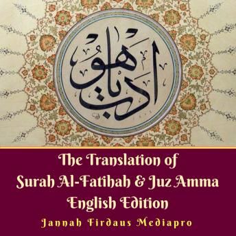 Download Translation of Surah Al-Fatihah & Juz Amma English Edition by Jannah Firdaus Mediapro