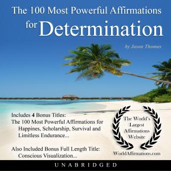 Download 100 Most Powerful Affirmations for Determination by Jason Thomas