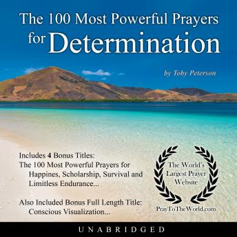 Download 100 Most Powerful Prayers for Determination by Toby Peterson