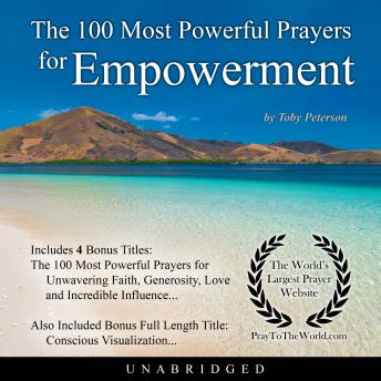 Download 100 Most Powerful Prayers for Empowerment by Toby Peterson