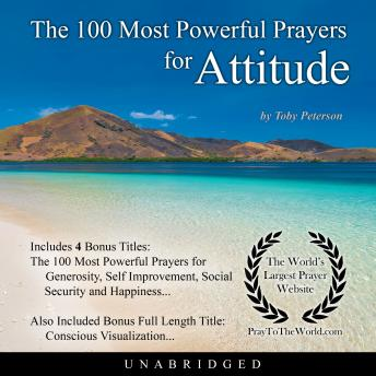 Download 100 Most Powerful Prayers for Attitude by Toby Peterson