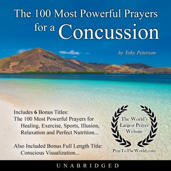 Download 100 Most Powerful Prayers for a Concussion by Toby Peterson