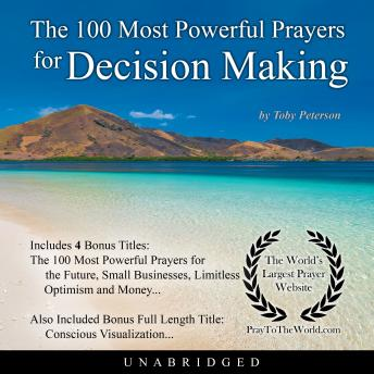 Download 100 Most Powerful Prayers for Decision Making by Toby Peterson