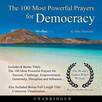 Download 100 Most Powerful Prayers for Democracy by Toby Peterson