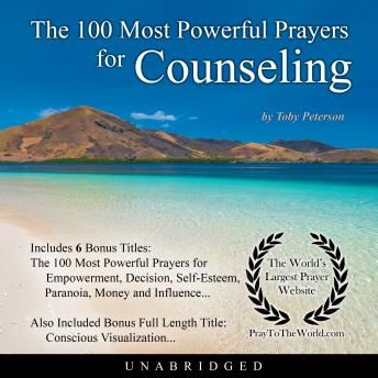 Download 100 Most Powerful Prayers for Counseling by Toby Peterson
