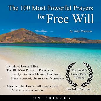 Download 100 Most Powerful Prayers for Free Will by Toby Peterson