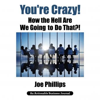 Download You're Crazy! How the Hell Are We Going to Do That?! by Joe Phillips