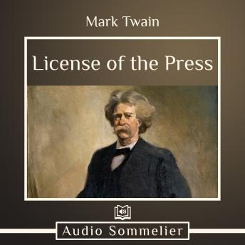 License of the Press