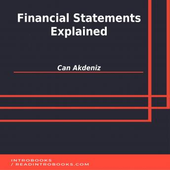 Financial Statements Explained, Can Akdeniz