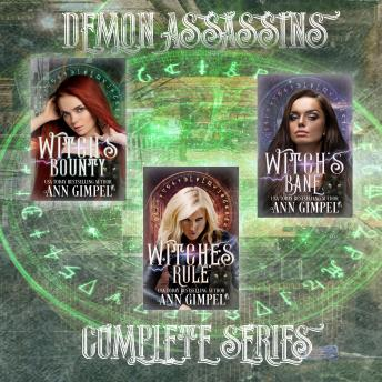 Demon Assassins: Urban Fantasy Romance sample.