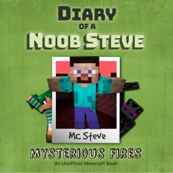 Diary Of A Minecraft Noob Steve Book 1: Mysterious Fires: (An