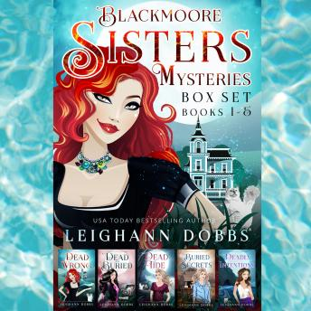 Blackmoore Sisters Cozy Mysteries Box-Set Books 1-5