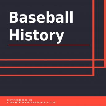 Download Baseball History by Introbooks