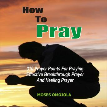 Download How To Pray: 310 Prayer Points For Praying Effective Breakthrough Prayer And Healing Prayer by Moses Omojola