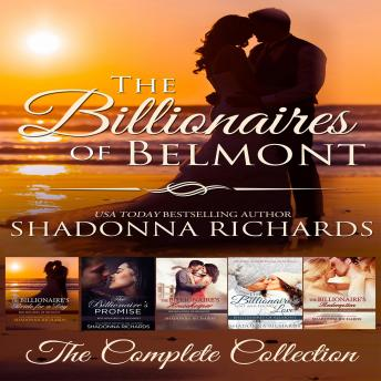 Billionaires of Belmont Complete Collection Books 1-5, Shadonna Richards