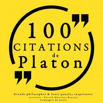 100 citations de Platon: Collection 100 citations