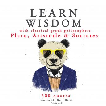 Learn wisdom with Classical Greek philosophers: Plato, Socrates, Aristotle
