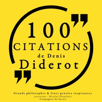 Download 100 citations de Diderot by Diderot