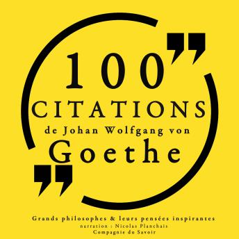 100 citations de Goethe