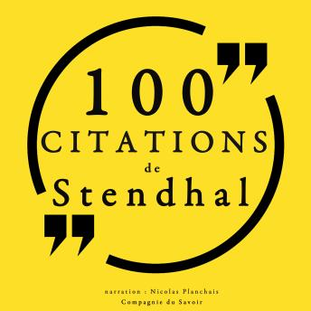 Download 100 citations de Stendhal by Stendhal