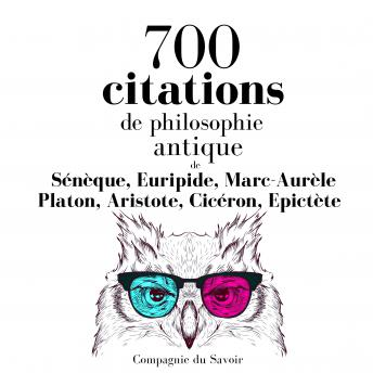 700 citations de philosophie antique
