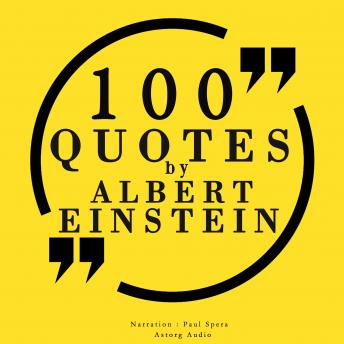Download 100 quotes by Albert Einstein by Albert Einstein