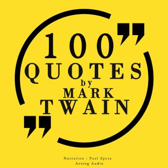 Download 100 quotes by Mark Twain by Mark Twain