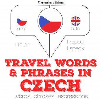 Travel words and phrases in Czech