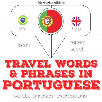 Travel words and phrases in Portuguese