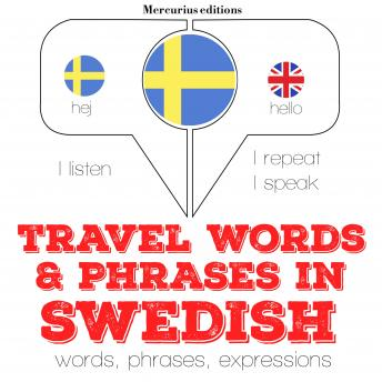 Travel words and phrases in Swedish