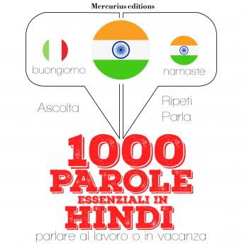 1000 parole essenziali in Hindi