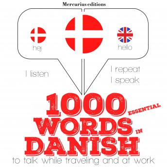 1000 essential words in Danish