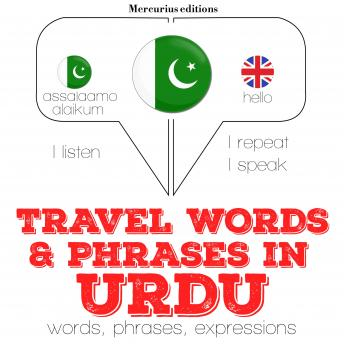 Travel words and phrases in Urdu