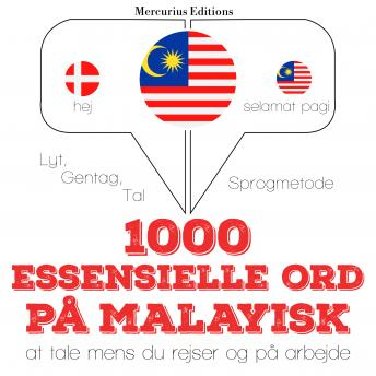 1000 essentielle ord på malayisk
