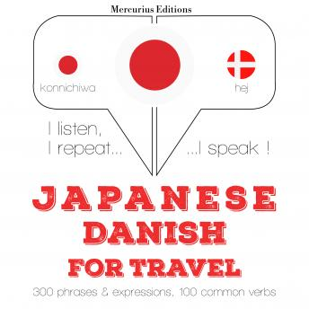 Japanese – Danish : For travel