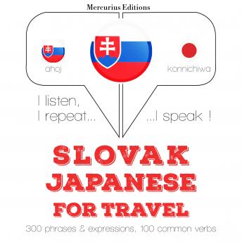 Slovak Ð Japanese : For travel