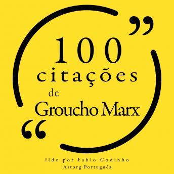 100 citações de Groucho Marx: Recolha as 100 citações de