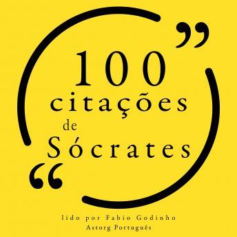100 citações de Sócrates: Recolha as 100 citações de