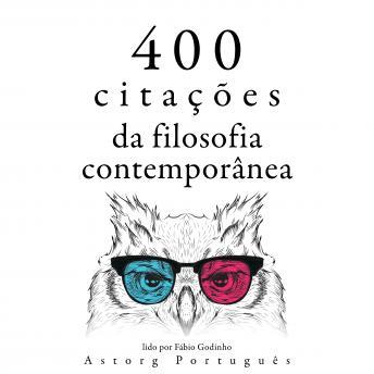 400 citações da filosofia contemporânea: Recolha as melhores citações