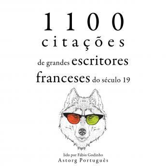 1.100 citações de grandes escritores franceses do século 19: Recolha as melhores citações