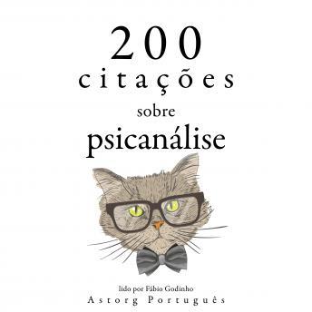200 citações em psicanálise: Recolha as melhores citações