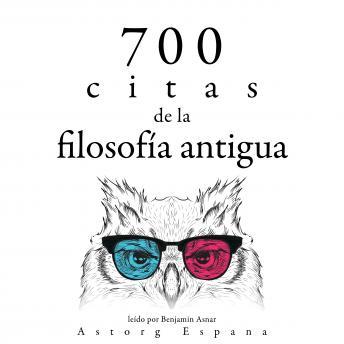 700 citas de la vieja filosofía: Colección las mejores citas