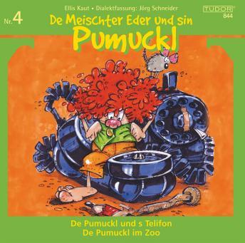 De Meischter Eder und sin Pumuckl Nr. 4: De Pumuckl und s Telifon - De Pumuckl im Zoo