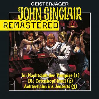 John Sinclair - Sammlerbox 1, Folgen 1-3: Nachtclub/Totenkopf-Insel/Achterbahn