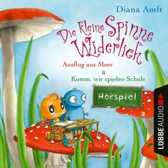 Die kleine Spinne Widerlich - 2 Geschichten - Ausflug ans Meer & Komm, wir spielen Schule